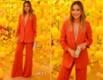 Jamie Chung In Veronica Beard - 'The Pop Shop By Vita Coco'