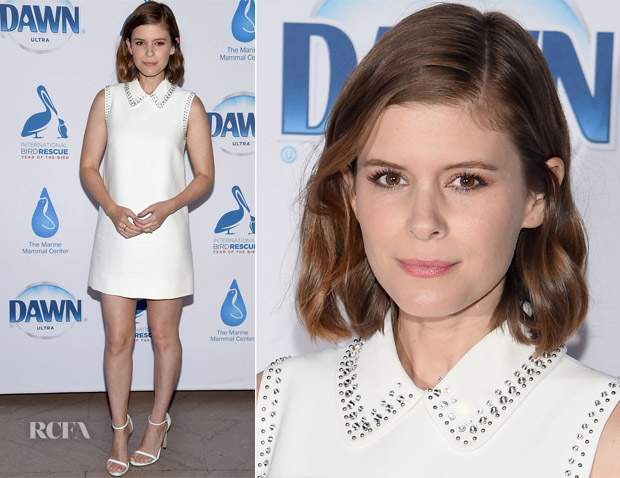 Kate Mara In Miu Miu - 40th Anniversary of Wildlife Rescue Initiatives