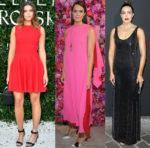 Mandy Moore In Azzedine Alaïa, Schiaparelli Haute Couture & Ralph Lauren Collection - Haute Couture Fashion Week