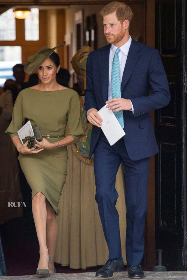 Meghan Duchess Of Sussex In Ralph Lauren Hrh Prince