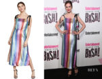 Melanie Scrofano's RIXO London Tessa Dress