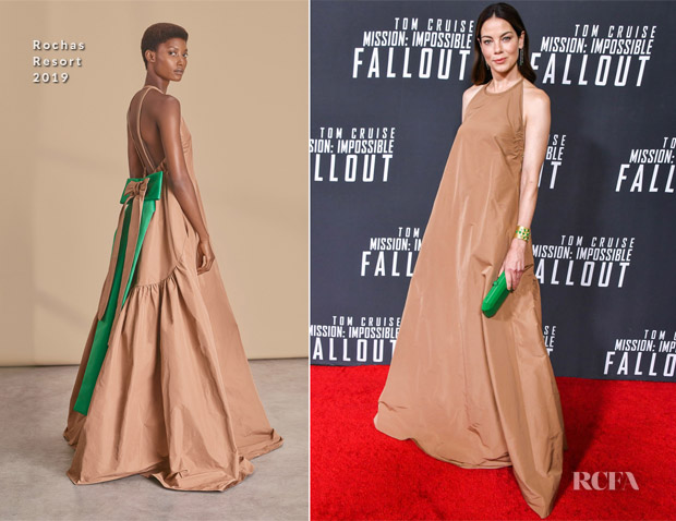 Michelle Monaghan In Rochas - 'Mission: Impossible - Fallout' Washington DC. Premiere