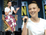 Millie Bobby Brown In Calvin Klein 205W39NYC - Comic-Con 2018: 'Godzilla: King of the Monsters'