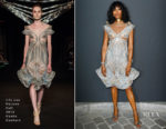 Naomi Campbell In Iris van Herpen Haute Couture - 2018 Vogue Foundation Dinner