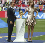 Natalia Vodianova In Louis Vuitton - FIFA World Cup Final