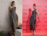 Nieves Alvarez In Carolina Herrera - Vogue España 30th Anniversary Party