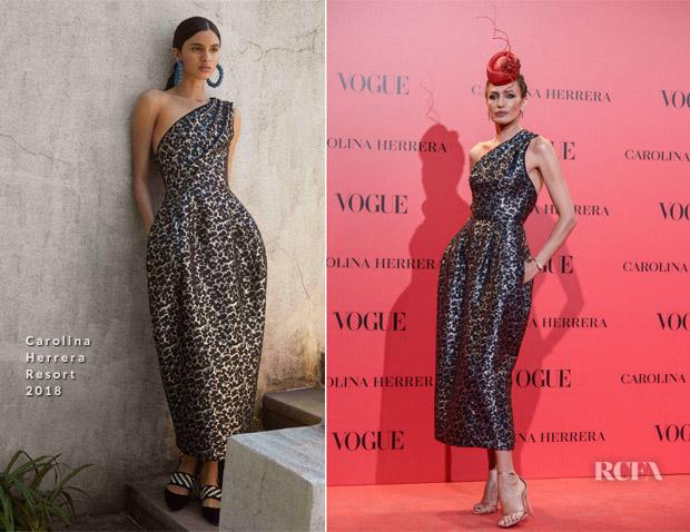 a1b060a52 Nieves Alvarez In Carolina Herrera – Vogue España 30th Anniversary Party