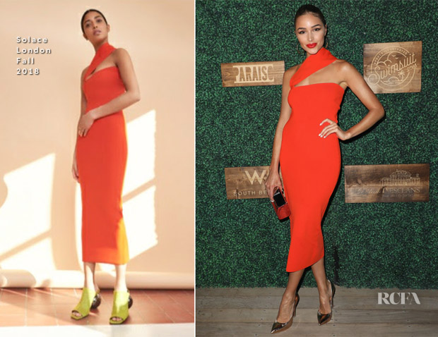 Olivia Culpo In Solace London - 2018 Sports Illustrated Swimsuit Show