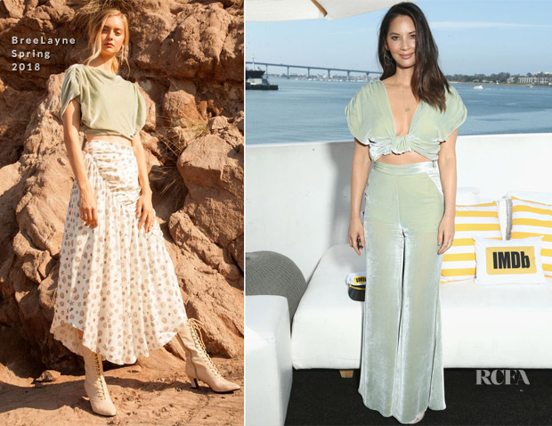 Olivia Munn In BreeLayne - #IMDboat At San Diego Comic-Con 2018