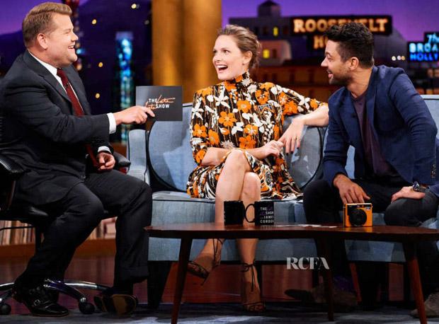 Rebecca Ferguson In Prada - The Late Late Show with James