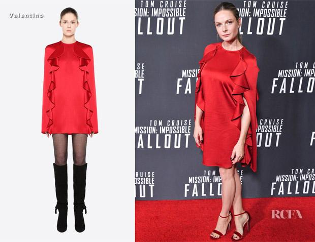 Rebecca Ferguson In Valentino – 'Mission: Impossible