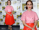 Sarah Paulson In Calvin Klein 205W39NYC  - Comic-Con 2018: 'Glass' Panel