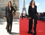 Rebecca Ferguson In Sonia Rykiel Haute Couture - 'Mission: Impossible - Fallout' Paris Premiere