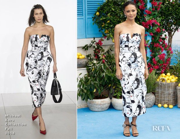 Thandie Newton In Michael Kors Collection - 'Mamma Mia! Here We Go Again' World Premiere