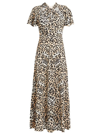 temperly london animal print dress