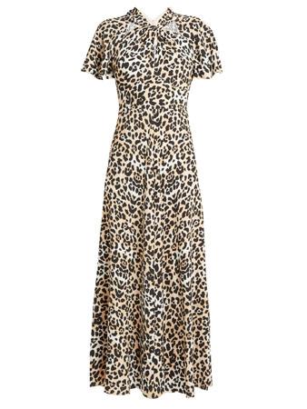 temperly london animal print dress