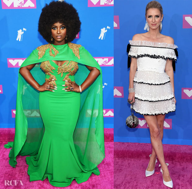 Nicky Hilton in Valentino