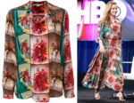 Amy Adams' Stella McCartney Floral Shirt