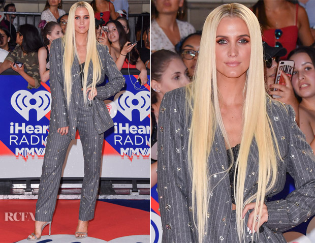 Ashlee Simpson In MSGM - 2018 iHeartRADIO MuchMusic Video Awards