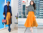Awkwafina In Fendi - 'Crazy Rich Asians' Toronto Promo Tour