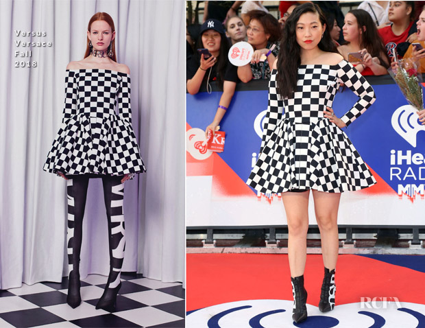 Awkwafina In Versus Versace - 2018 iHeartRADIO MuchMusic Video Awards