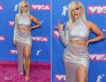 Bebe Rexha In Christian Siriano - 2018 MTV VMAs