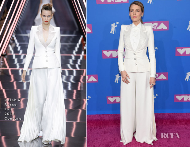 Blake Lively In Ralph & Russo Couture - 2018 MTV VMAs
