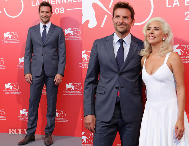 Bradley Cooper In Prada - 'A Star Is Born' Venice Film Festival Photocall