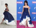Camila Cabello In Oscar de la Renta - 2018 MTV VMAs
