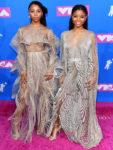 Chloe Bailey & Halle Bailey In Iris van Herpen Couture - 2018 MTV VMAs