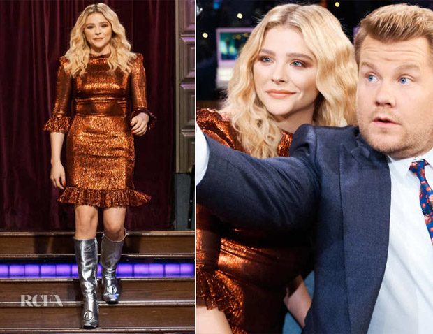 Chloe Grace Moretz In The Vampire's Wife - The Late Late Show With James Corden