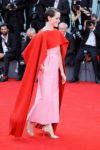 Claire Foy In Valentino Haute Couture -'First Man' Venice Film Festival Premiere & Opening Ceremony