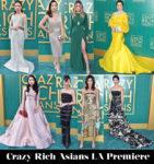 crazy rich asians la premiere