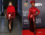 Cynthia Erivo In Sally LaPointe - 2018 Black Girls Rock! Awards