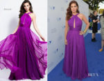 Debra Messing In Jovani - Project Angel Food's 2018 Angel Awards