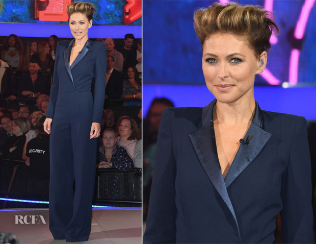 Emma Willis In Zeynep Kartal - Celebrity Big Brother 2018 Launch