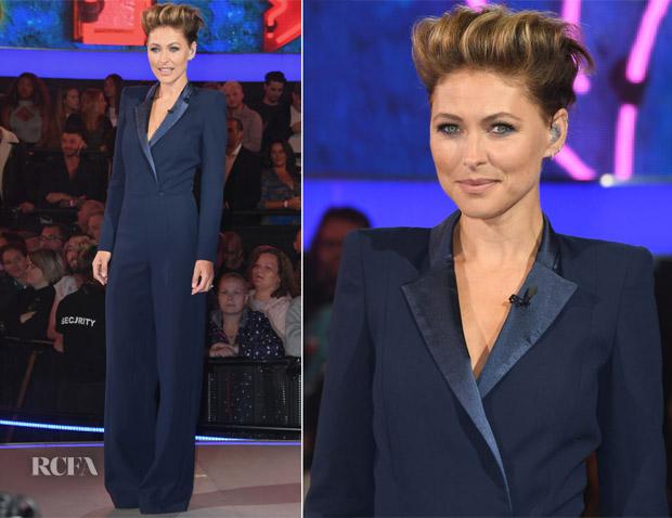 Emma Willis In Zeynep Kartal - Celebrity Big Brother 2018 Launch