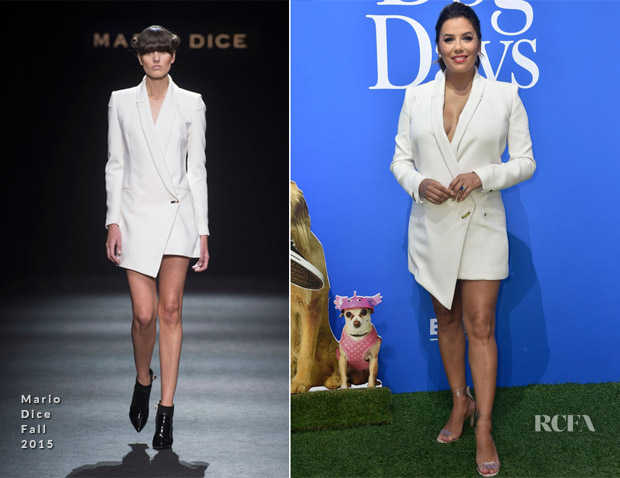Eva Longoria In Mario Dice - 'Dog Days' LA Premiere