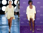 Gabrielle Union In Sally LaPointe - Hallmark's 'Put Into Words' Campaign Launch Party