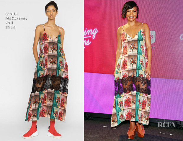 Gabrielle Union In Stella McCartney - #BlogHer18 Creators Summit