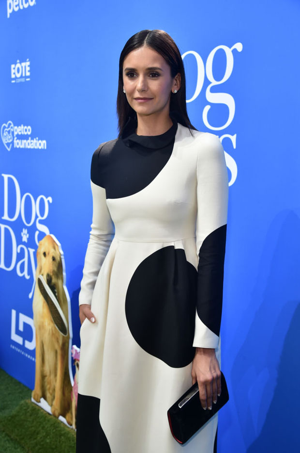 Nina Dobrev In Valentino - 'Dog Days' LA Premiere