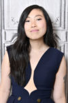 Awkwafina In Peggy Hartanto & Vivienne Westwood Anglomania - Build Series & SiriusXM's Spotlight With The Cast Of 'Crazy Rich Asians'