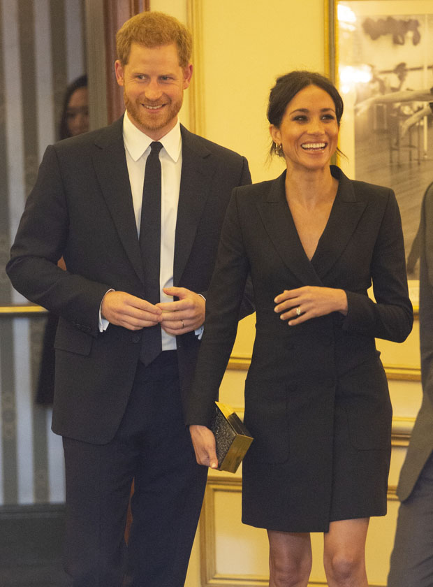 Meghan, Duchess of Sussex In Judith & Charles - 'Hamilton' Gala Performance