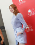 Emma Stone In Fendi & Louis Vuitton - 'The Favourite' Venice Film Festival Photocall