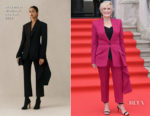 Glenn Close In Alexander McQueen - 'The Wife' London Premiere