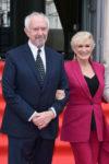 Glenn Close In Alexander McQueen - 'The Wife' London Premiere
