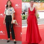 Hannah Gross In Prada - 'The Mountain' Venice Film Festival Photocall & Screening