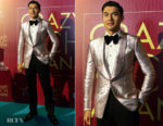 Henry Golding In Tom Ford - 'Crazy Rich Asians' Singapore Premiere