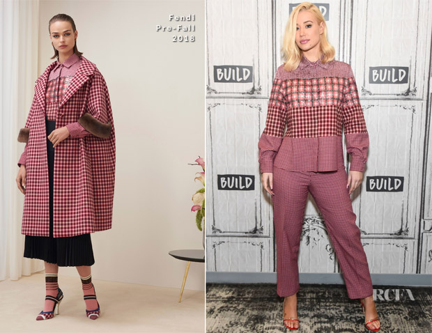 Iggy Azalea In Fendi - Build Series