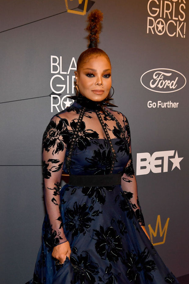 Janet Jackson In Christian Siriano - 2018 Black Girls Rock! Awards